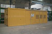 30ft sound-attenuated container, standard type
