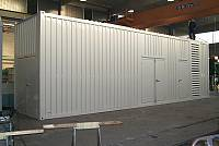 45ft special sound-attenuated container - 4400-mm high