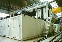 Containerized power plant