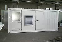 20ft sound-attenuated container for gen-set