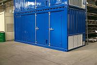 20ft special sound-attenuated container for gen-set