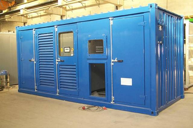 Блок-контейнер для МКС, компрессорной, компрессора новый