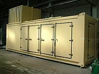 Offshore container complying with BS EN 12079-1: 2006